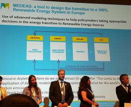 MEDEAS at in the World Resources Forum
