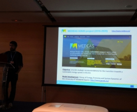 MEDEAS participated in the 11th Annual Meeting of the Integrated Assessment Modeling Consortium in Seville (Spain)