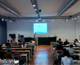 Presentation of Guiomar Calvo