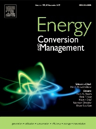Cover from Energy Conversion and Management Journal